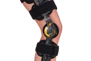 flexible knee brace